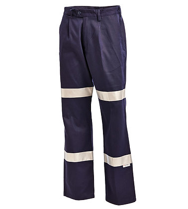 Cotton Drill Work Pants relective -1011N