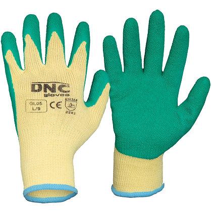 Latex - Premium Seamless 10 gauge polyester cotton liner gloves