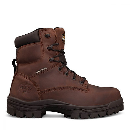 45-637 150mm Brown Lace Up Boot
