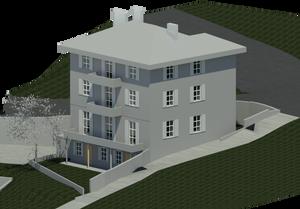 BIM modèle (maquette numérique) du bâtiment existant