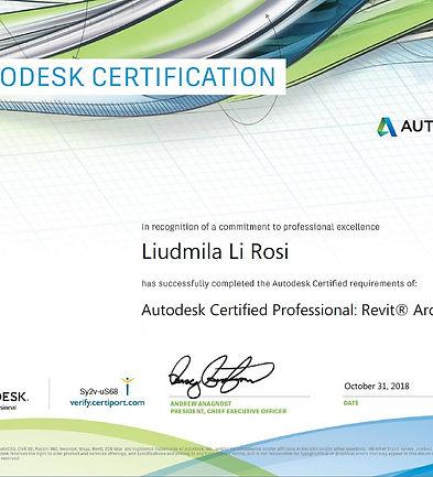 Autodesk Certified Professional_Revit Ar