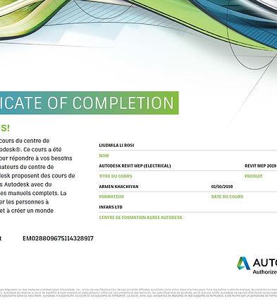 Certificat_Autodesk_Revit_MEP_Electricit