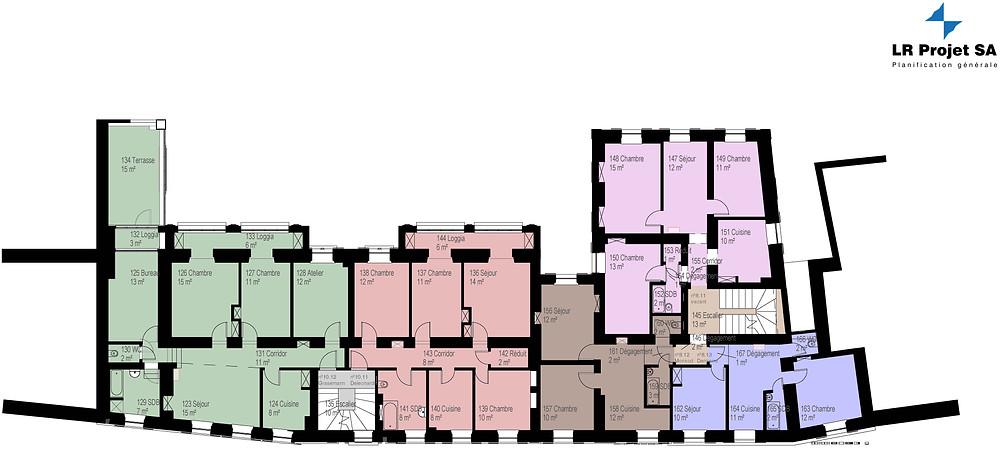BIM modèle (plans) pour des bâtiments existants, nouvelle construction, architecte, architecture, BIM modèle, maquette numérique, plans CECB