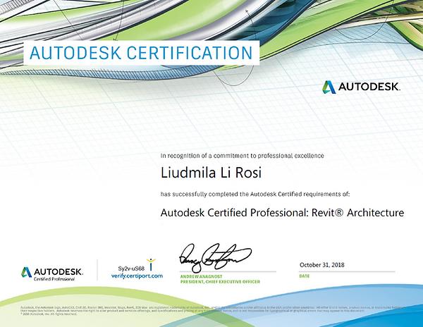 Certificat Professional Certificat Autodesk examen BIM formation