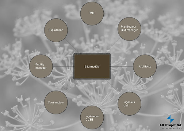 Collaboration autour du BIM modèle