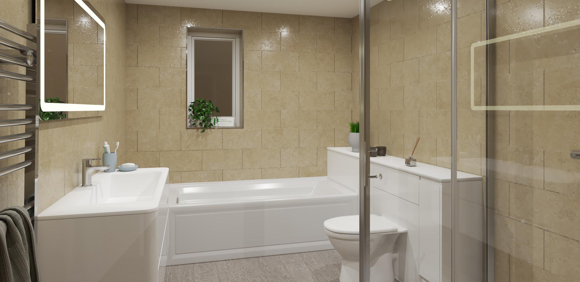 Plot 2 Main bathroom