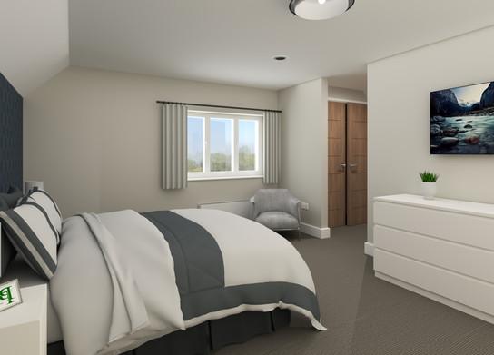 The Lynch Master Bedroom