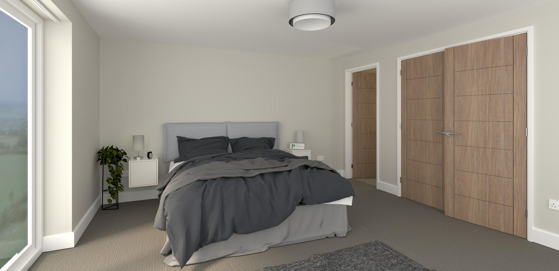 Plot 2 Master Bedroom
