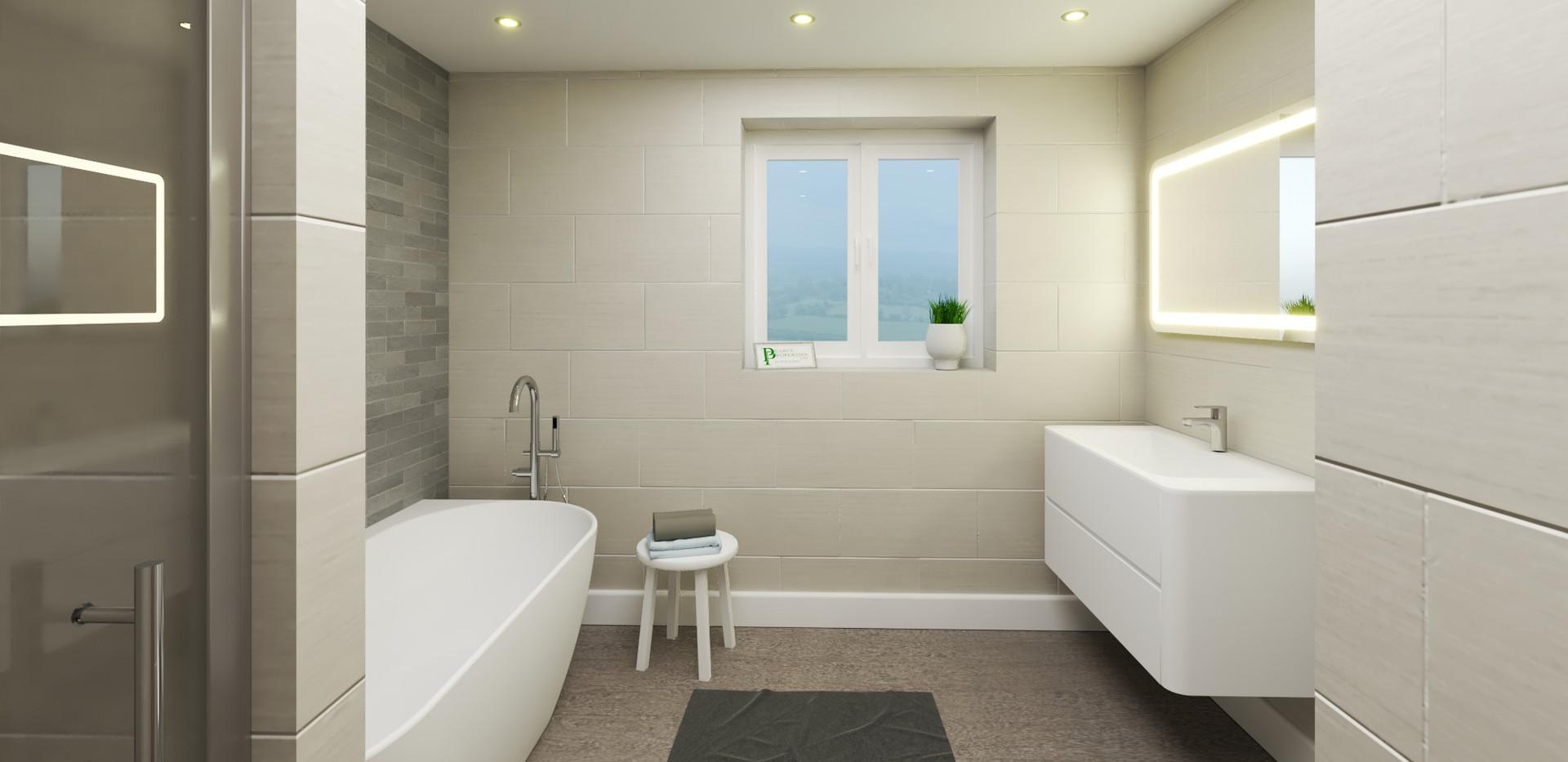 Plot 1 Bathroom