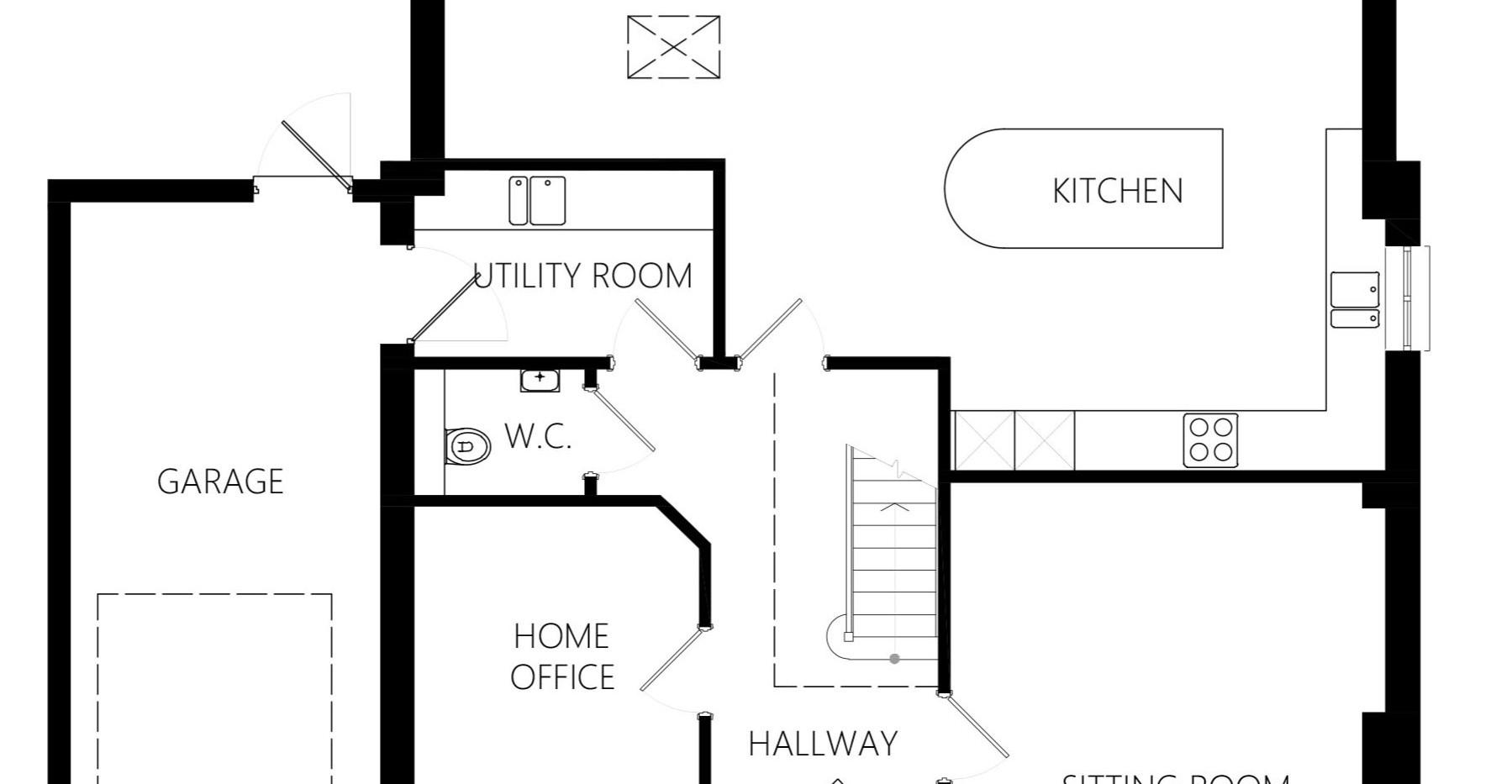 Ground Floor - Plot 2, Martock Lane, Ash