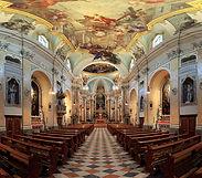 Stiftskirche: Blick in Richtung Chorraum