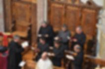 Choralscola Griesensis unter der Leitung von Fr. Arno Hagmann