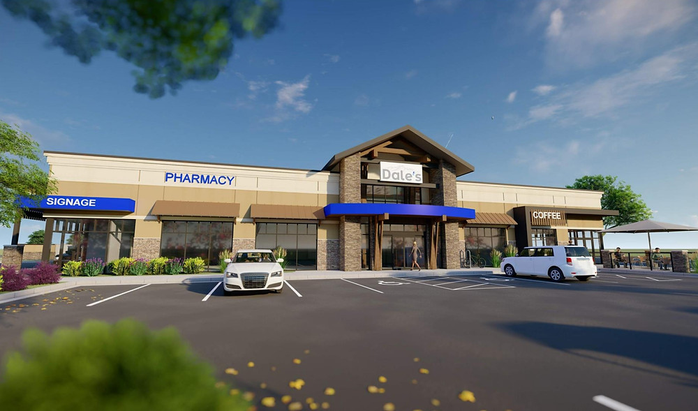 New 10,038 SF DALE'S PHARMACY facility located in Fort Lupton, Colorado