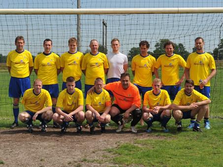 Het winnende heren team van het Noorderslag-toernooi 2014