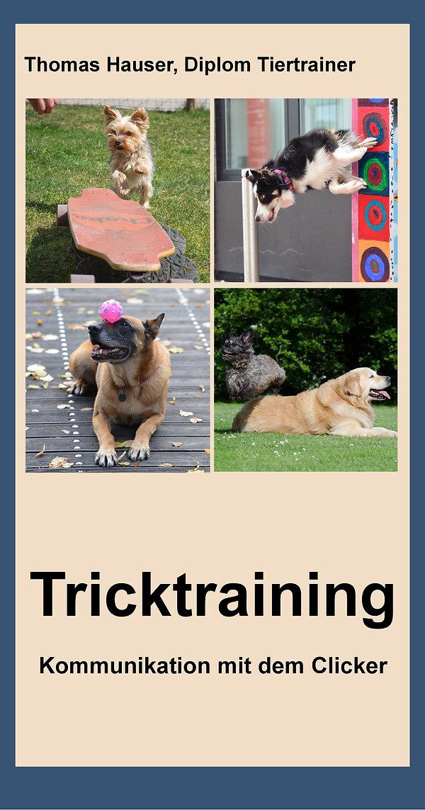 Titelseite lang Tricktraining Bilddatei.