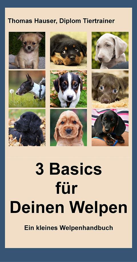 Thomas Hauser: 3 Basics für deinen Welpen - E-Book