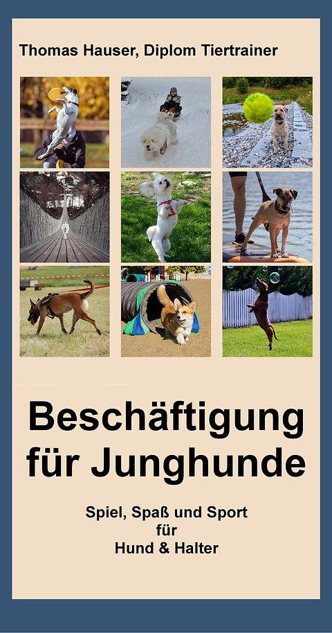 """E-Book """"Beschäftigung für Junghunde"""" von Thomas Hauser"""