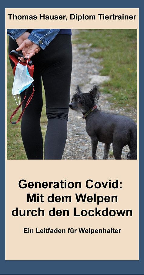 """E-Book """"Generation Covid: Mit dem Welpen durch den Lockdown"""" von Thomas Hauser"""