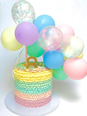 Pastels & Balloons