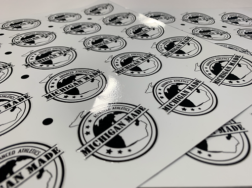 "2"" Michigan Made Decal Sticker"