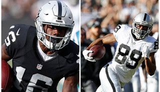 Childhood friends Johnny Holton and Amari Cooper join forces in Oakland