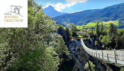 Schloss Matrei Trautson Erlebnisbrücke
