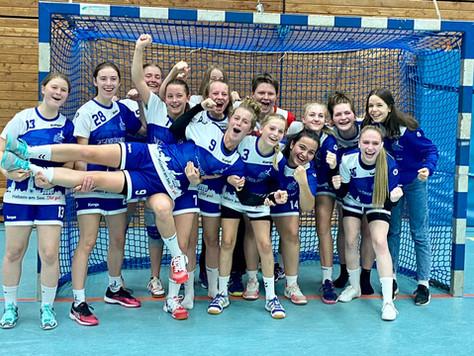 Weibliche B-Jugend zieht eindrucksvoll in die Oberliga ein