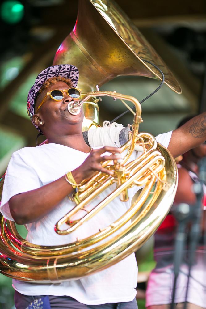 Pitch Blak Brass Band Tuba