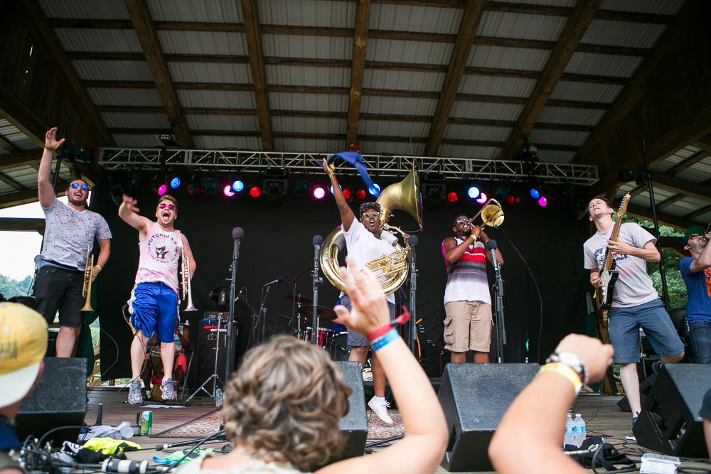 Pitch Blak Brass Band Jump