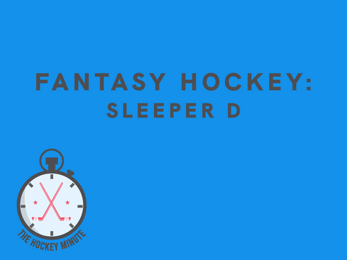 Fantasy Hockey: Potential Sleeper D