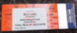 Tickets to a stadium concert