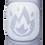 Thumbnail: Explode Emoji (Hollow Style) Elbow Pad Sleeve