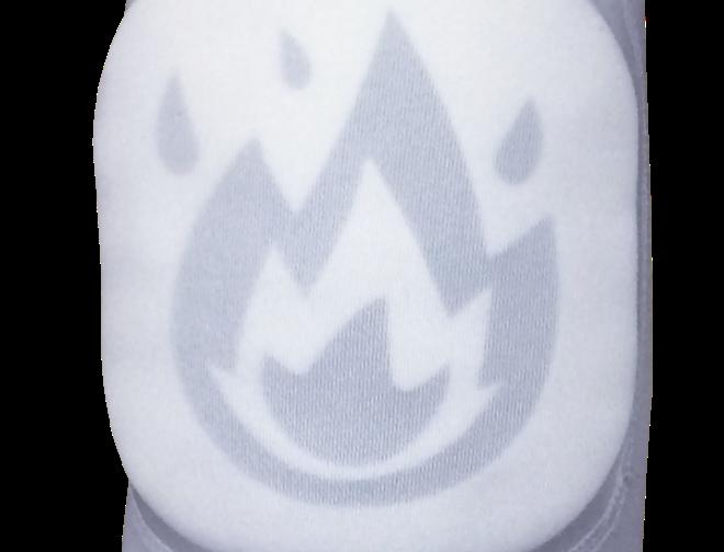 Explode Emoji (Hollow Style) Elbow Pad Sleeve