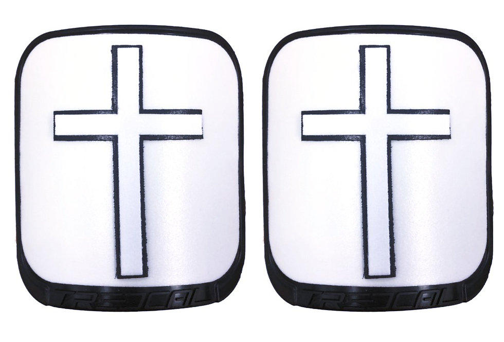 Crosses on a Pair of Thigh Plates