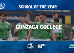 Leinster Rugby Awards: School of the Year