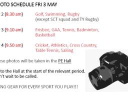 Sports Photos Fri 3 May
