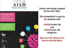 All-Ireland Linguistics Olympiad: sign up now!