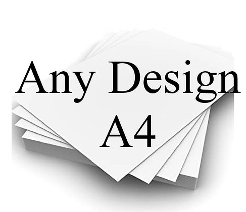 Any design - PRINT