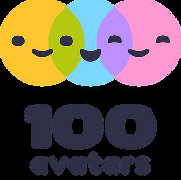 Logo 100 Avatars open source
