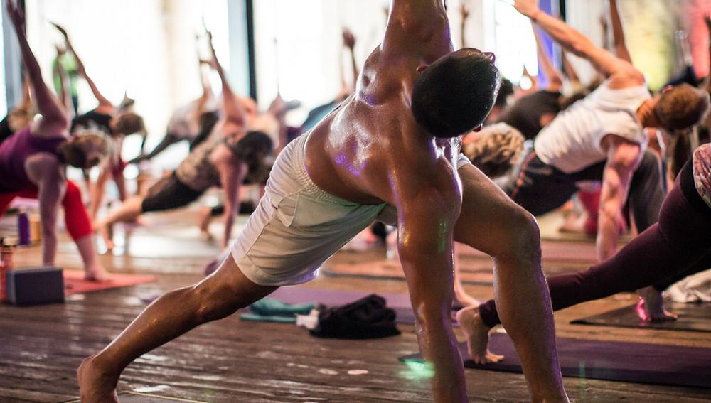 Intense Yoga Practice