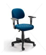 Cadeira Secretaria Giratoria com braços