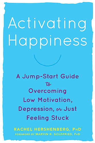 Book cover, Activing Happiness