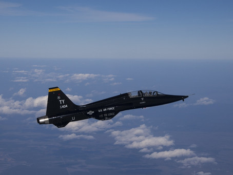 Smarter Every Day Flies in a T-38 Talon!