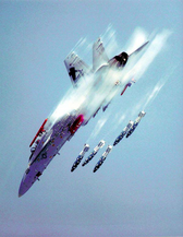 F/A-18 Weapon Separation Testing