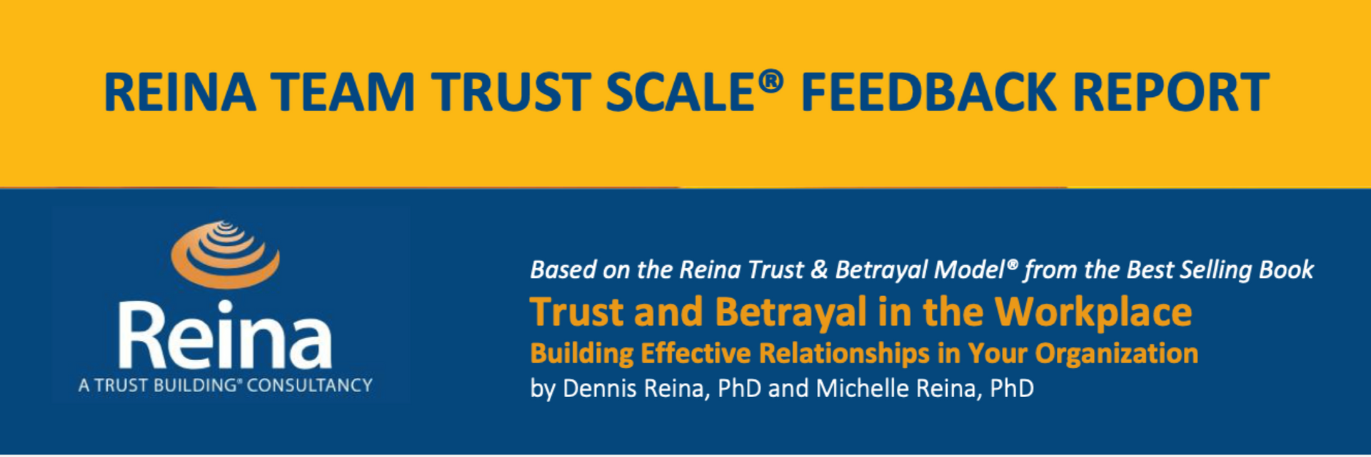 Provide your team with a baseline Total Trust Score and identify specific areas for improvement.