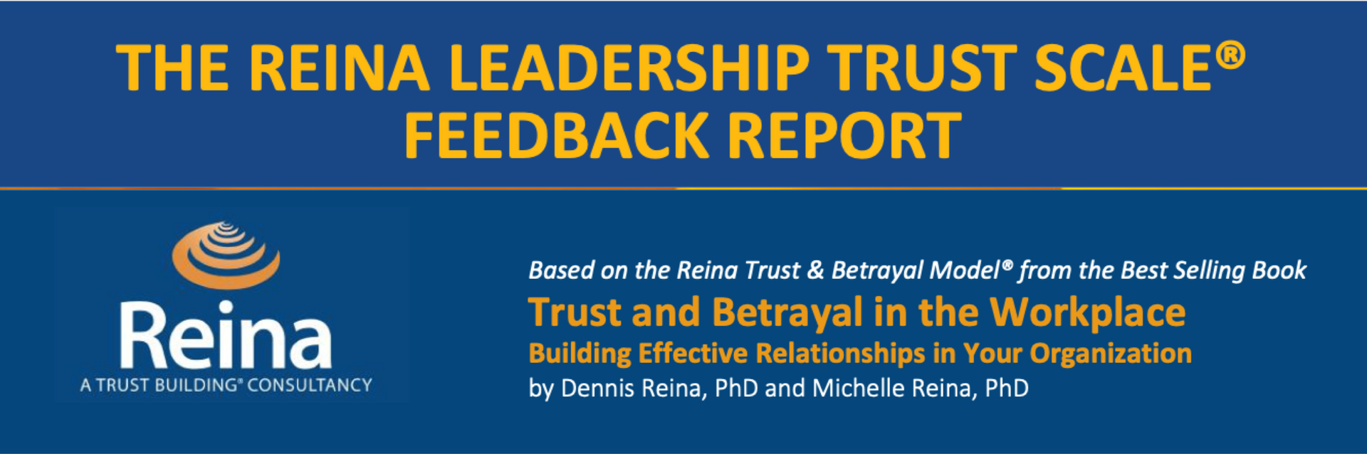 Understanding the level of trust in your working relationships with others.