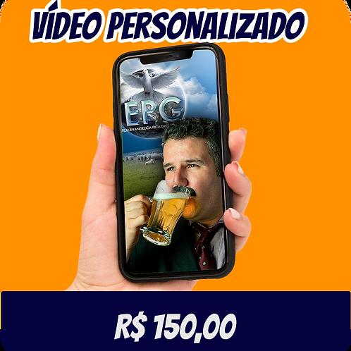 Vídeo Personalizado de até 1 min