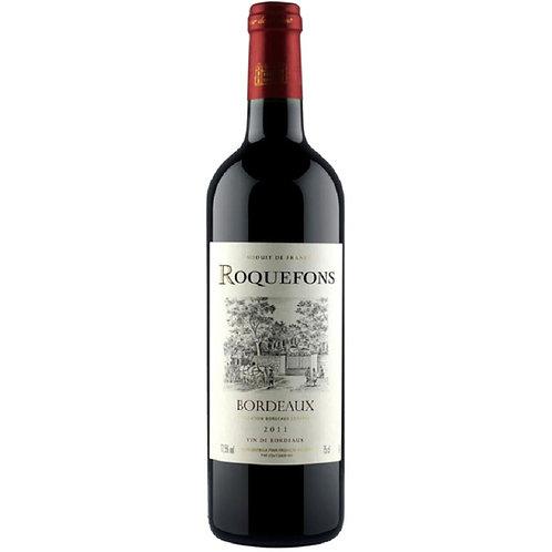 Roquefons Bordeaux Rouge 2016, FRANCE