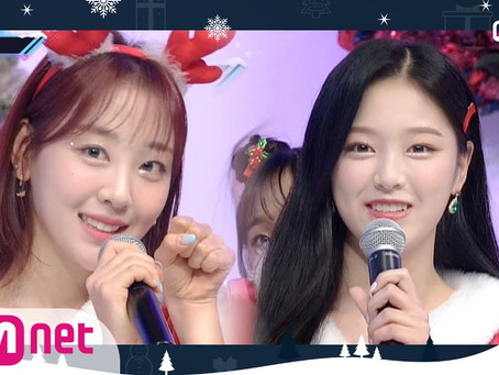 [ENG] M Countdown 'Christmas Wishes' with LOONA (201224)