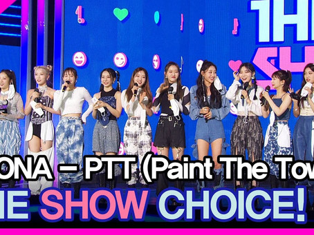 [ENG] The Show Choice LOONA 'Paint the Town' (210706)